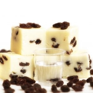 Rum and Raisin Fudge - Granny Shaws Fudge