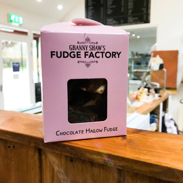Chocolate Mallow Fudge - Granny Shaws Fudge
