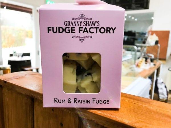Rum and Raisin Fudge - Granny Shaws Fudge