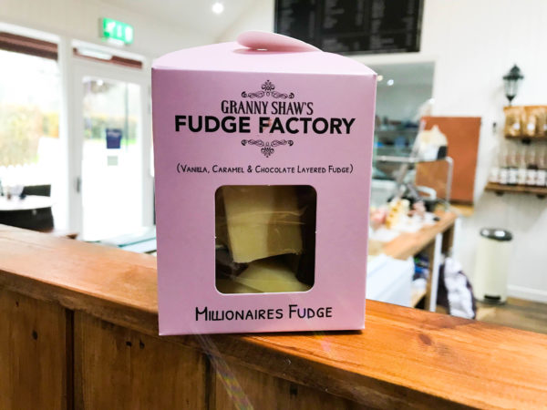 Millionaires Fudge - Granny Shaws Fudge