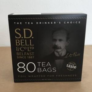 Tea Bags (80) - S.D.Bell and Co Ltd - Granny Shaws Fudge