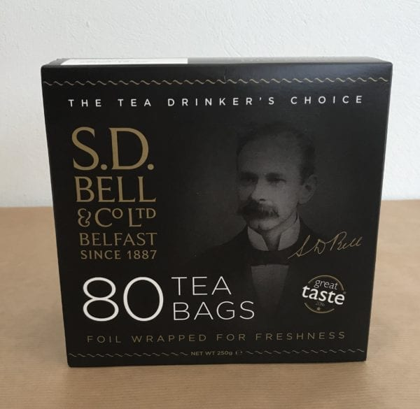 Tea Bags (80) - S.D.Bell and Co Ltd - Granny Shaws Fudge