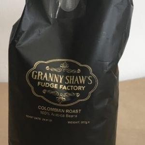 Roast Columbian Coffee Beans - Granny Shaws Fudge