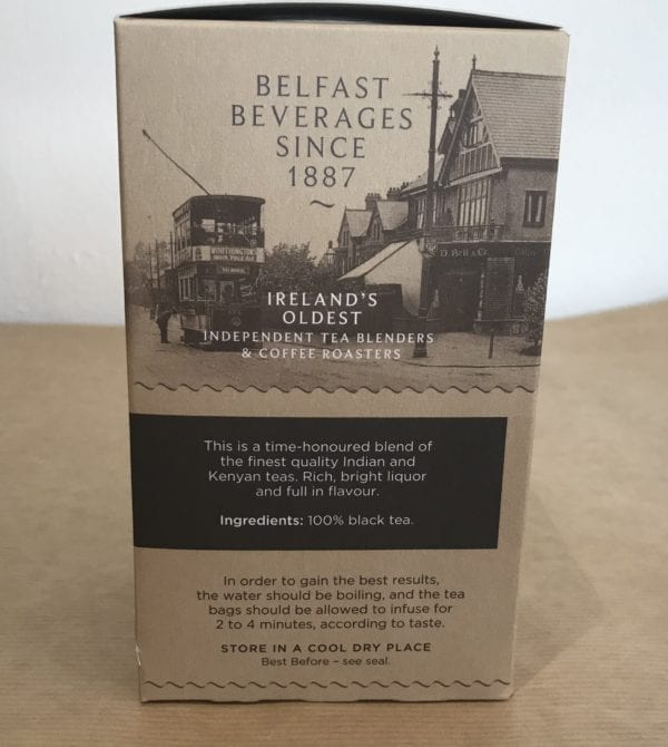 Belfast Tea - S.D.Bell and Co Ltd - Granny Shaws Fudge