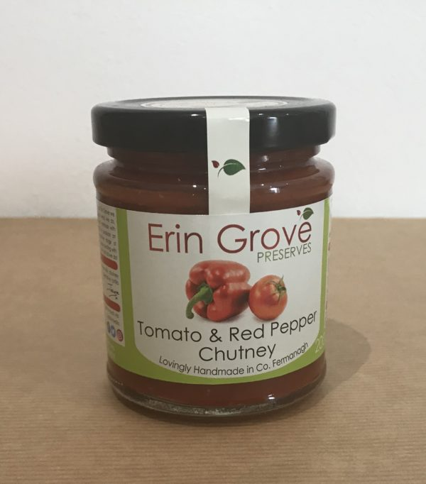 Tomato and Red Pepper Chutney - Granny Shaws Fudge