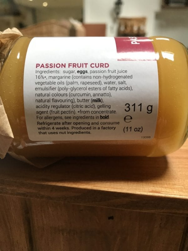 Ruby's Passion Fruit Curd - Granny Shaws Fudge