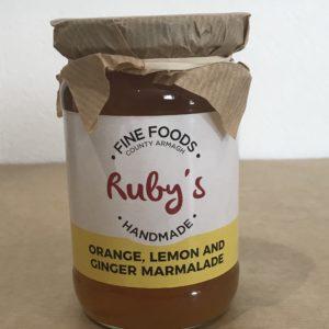 Ruby's Orange, Lemon and Ginger Marmalade - Granny Shaws Fudge