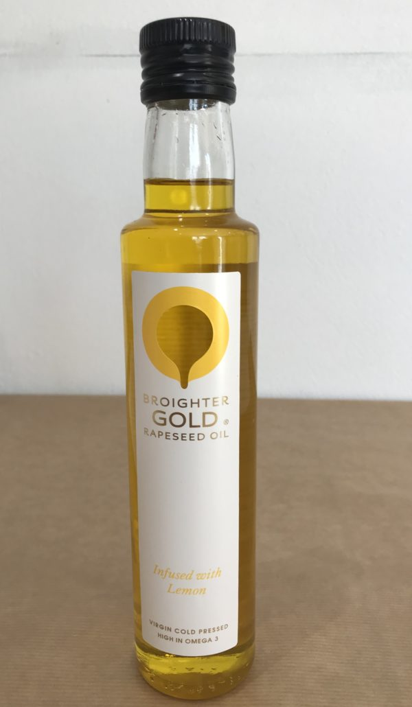Broighter Gold Rapeseed Oil - Infused With Lemon - Granny Shaws Fudge