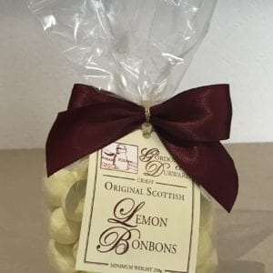 Lemon Flavoured Bon Bons - Granny Shaws Fudge