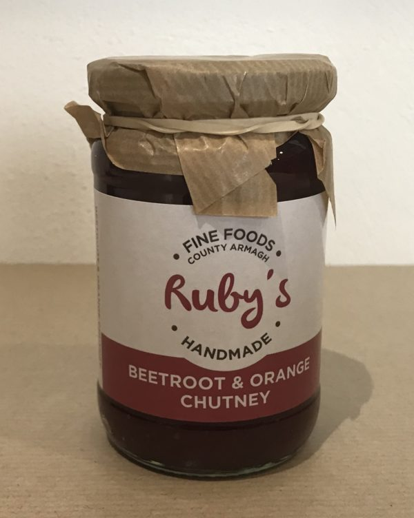Ruby's Beetroot and Orange Chutney - Granny Shaws Fudge